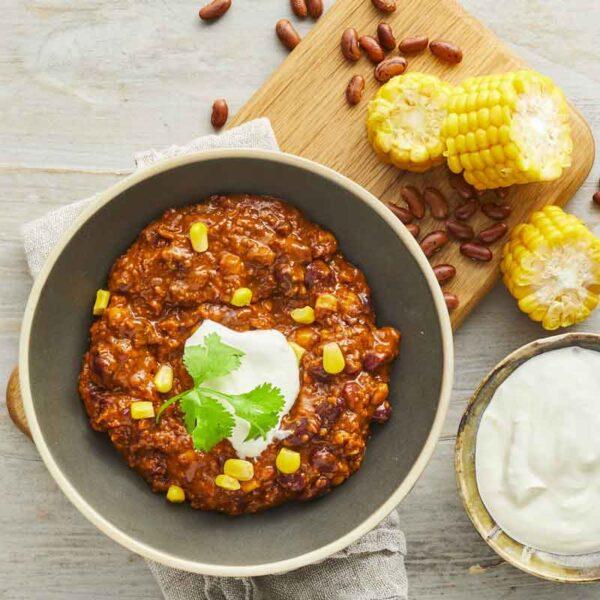 chili sin carne fra bonzo