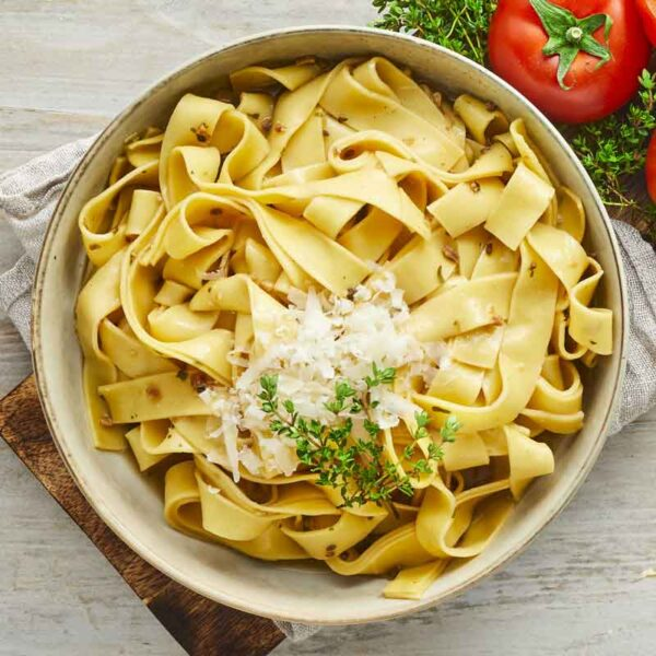 pappardelle pasta med karl johan fra bonzo