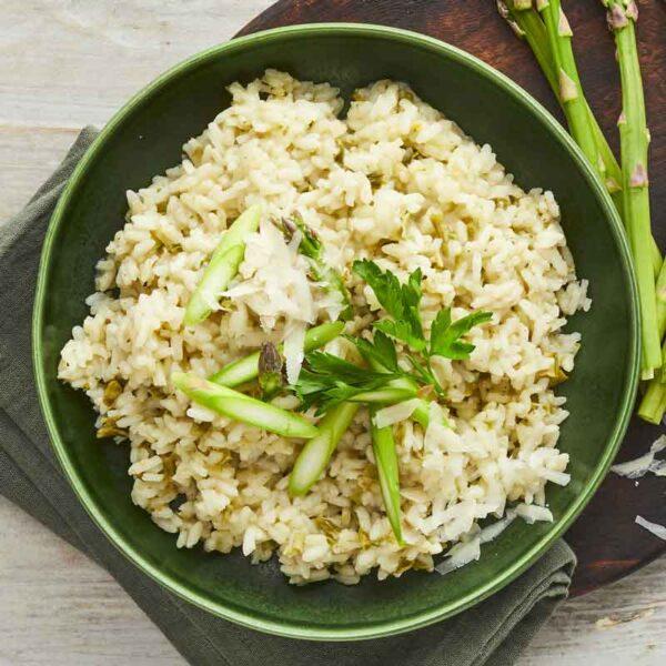 risotto med asparges og porre fra bonzo