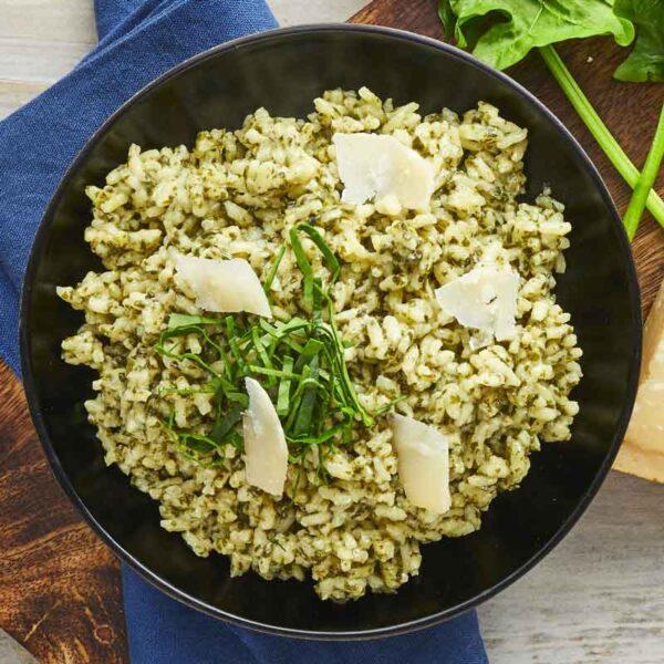 risotto med spinat fra bonzo