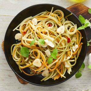 spaghetti med hvidløg og chili fra bonzo