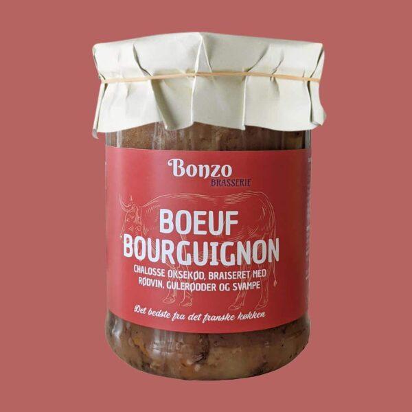 Boeuf Bourguignon fransk mad fra bonzo