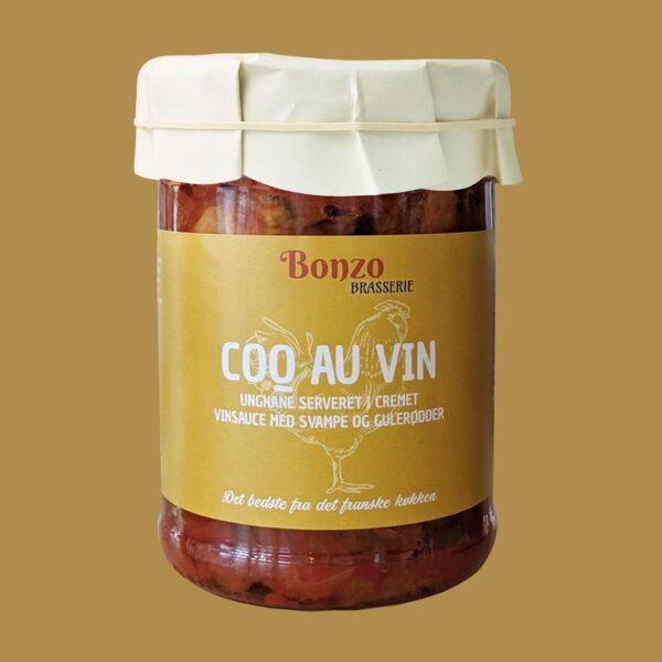 Fransk mad Coq Au Vin Brasserie fra bonzo