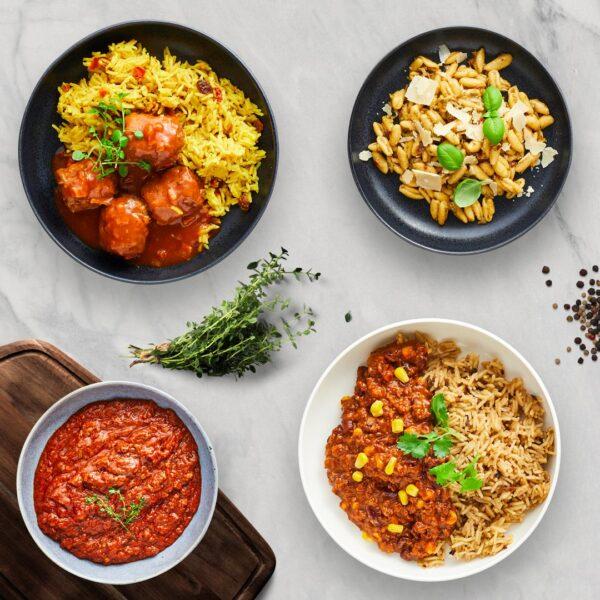 aftensmad til familie måltidspakker måltidskasser fra bonzo