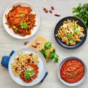 pastaretter måltidspakker måltidskasser fra bonzo