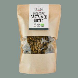 økologisk pasta med urter fra bonzo