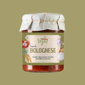 vegansk bolognese kødsovs fra bonzo