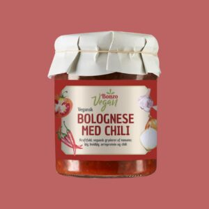 vegansk bolognese med chili fra bonzo