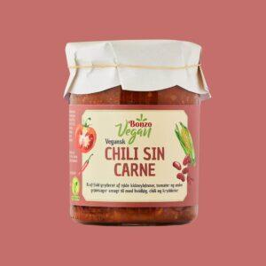 vegansk Chili sin Carne fra bonzo færdigretter