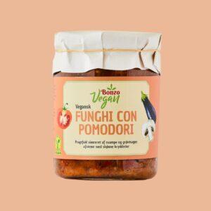 vegansk funghi con pomodori fra bonzo