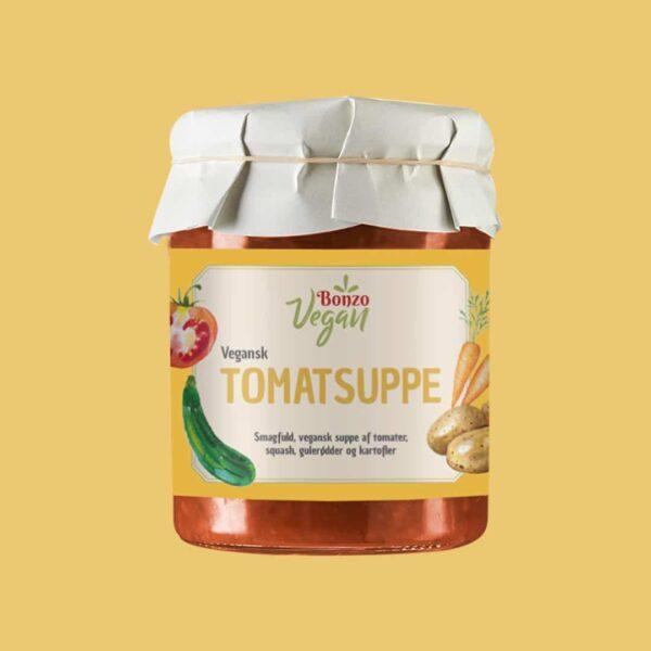 vegansk tomatsuppe fra bonzo