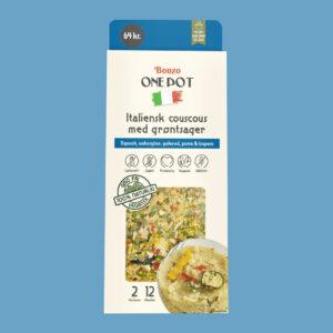 italiensk couscous med grøntsager