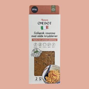 siciliansk couscous med milde krydderier