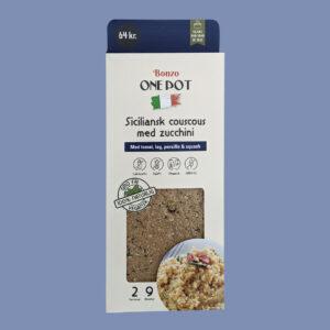 siciliansk couscous med zucchini squash