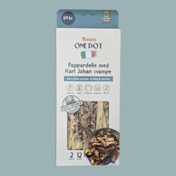 pasta pappardelle med karl johan svampe