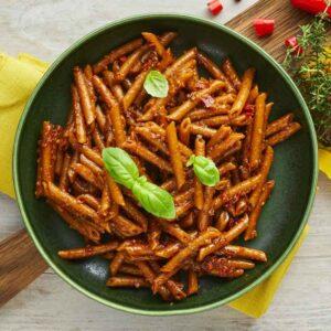 pennette pasta med spicy arrabiata nem mad fra bonzo
