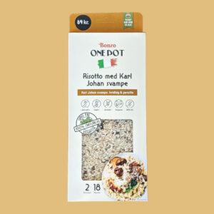 risotto med karl johan svampe færdigretter fra bonzo