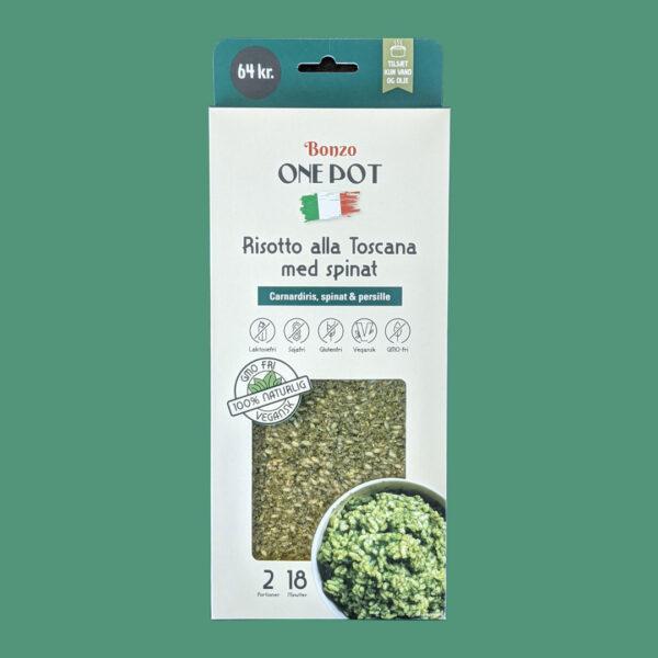 risotto med spinat færdigretter fra bonzo